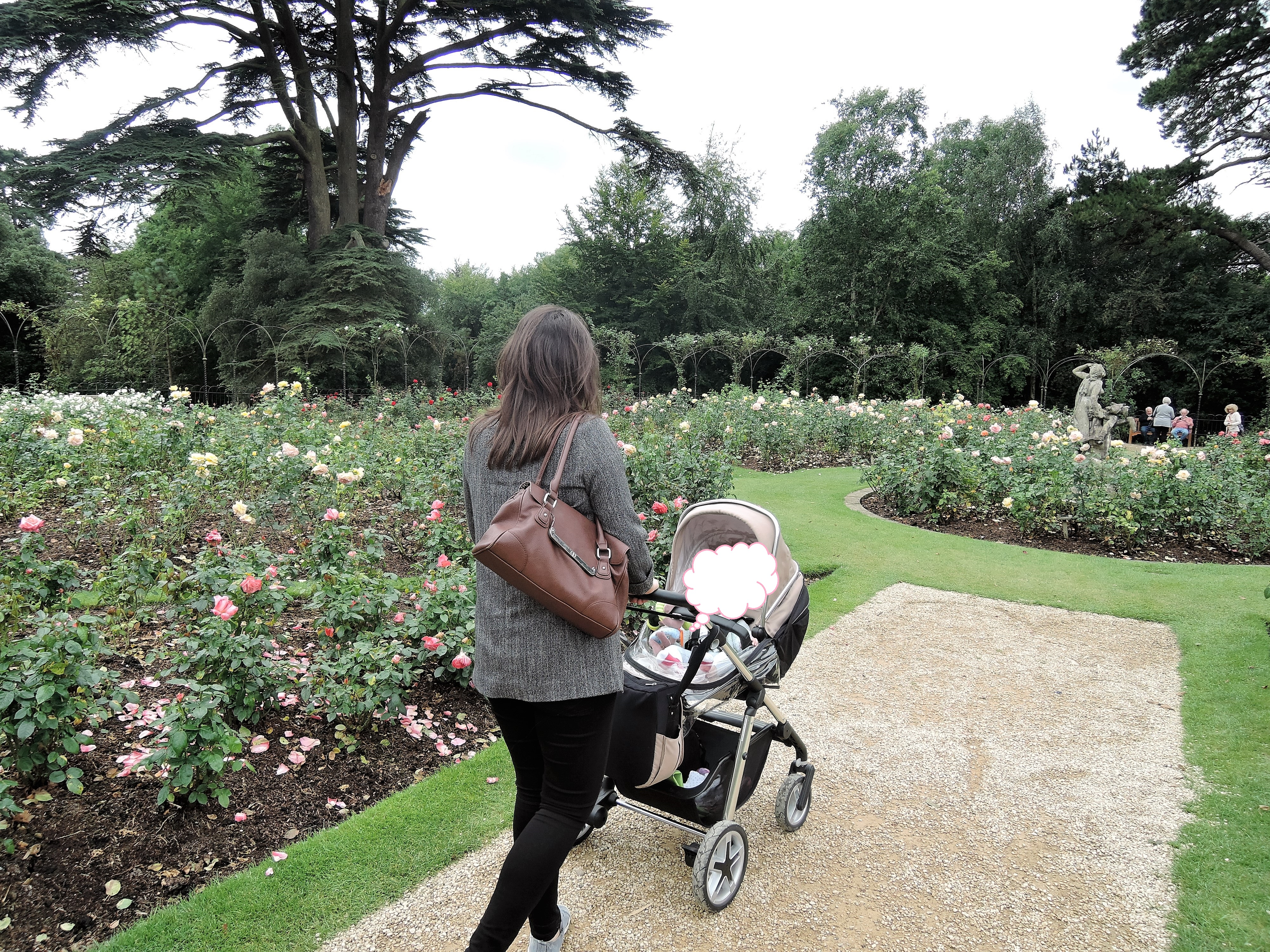 Blenheim with neice