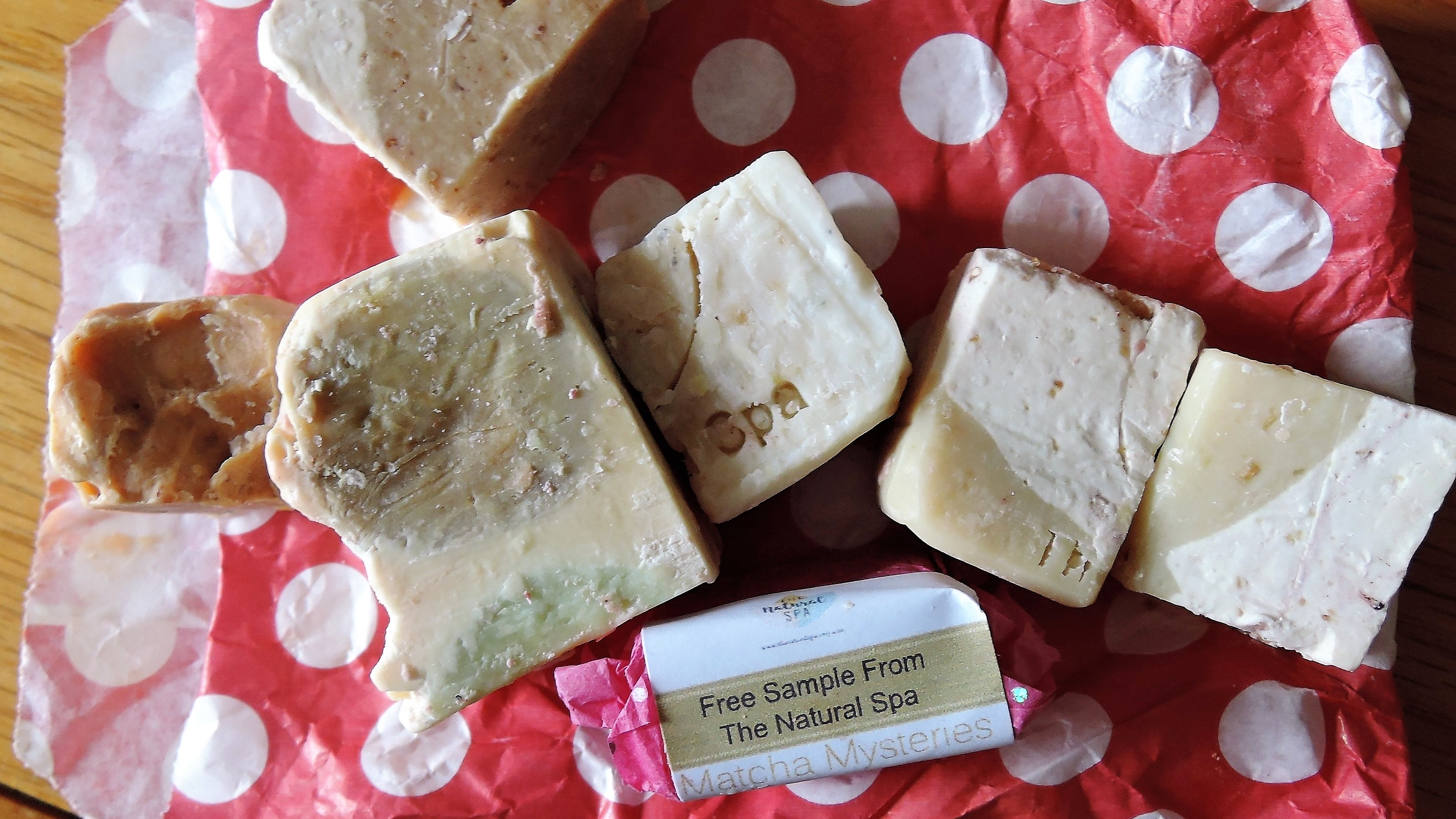 Soap Ends from Etsy Seller The Natural Spa