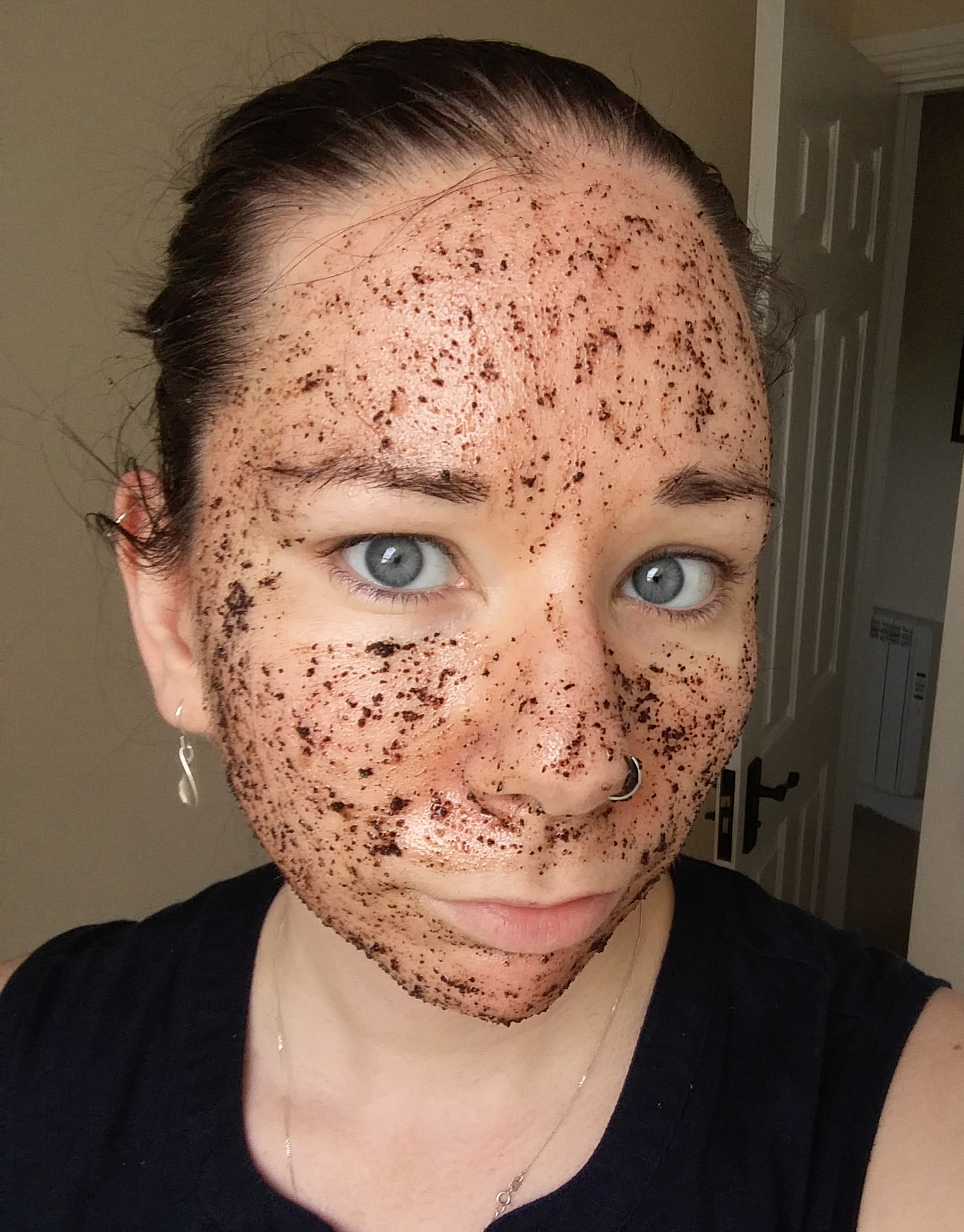 Coffee Scrub DIY Skincare