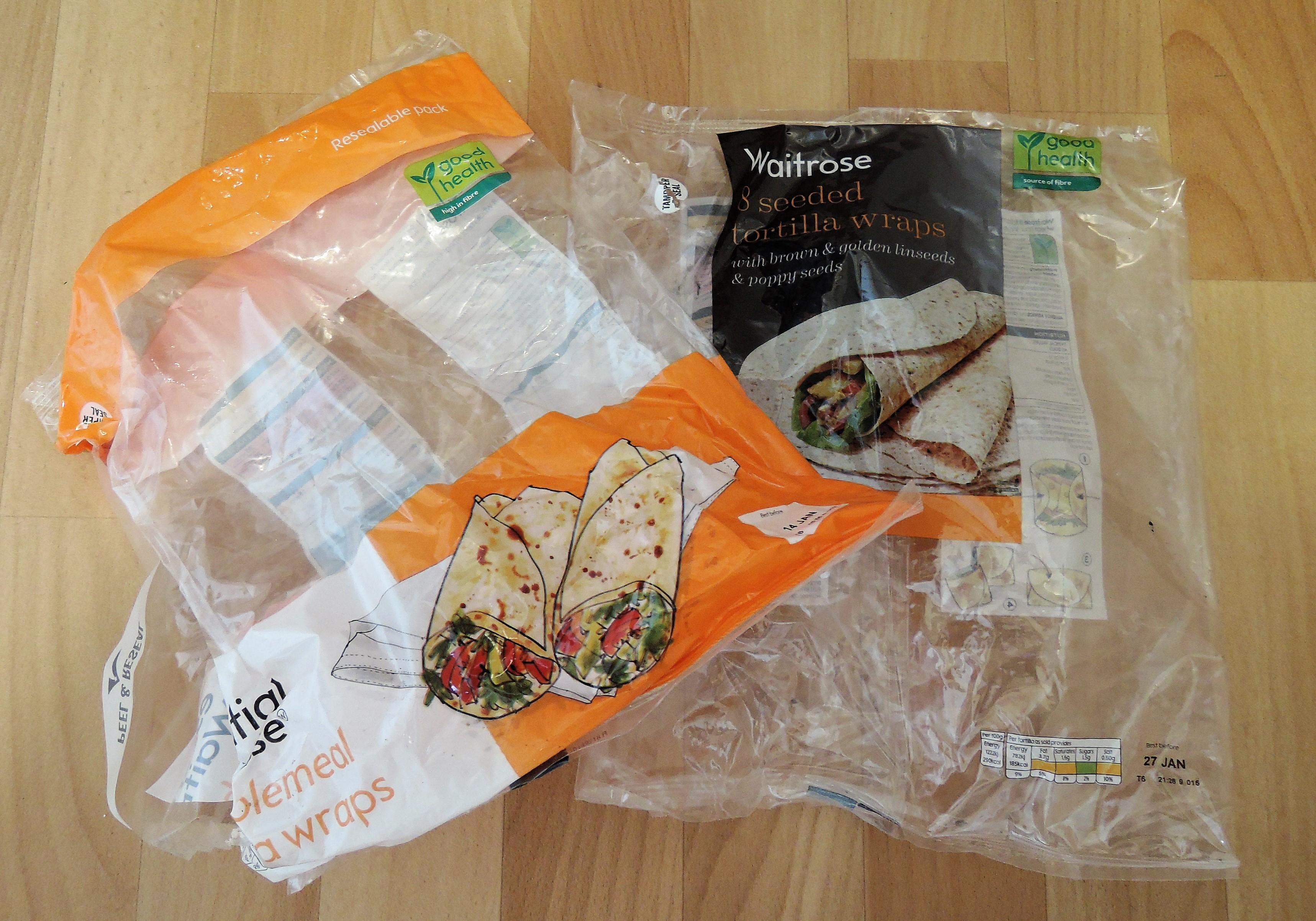 Bakery plastic packaging