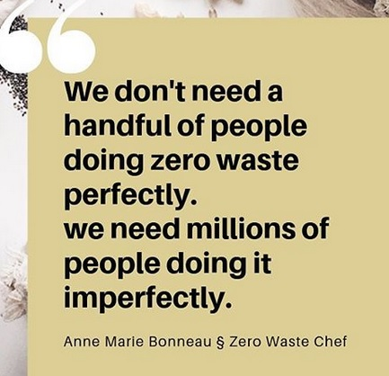 zero waste quote